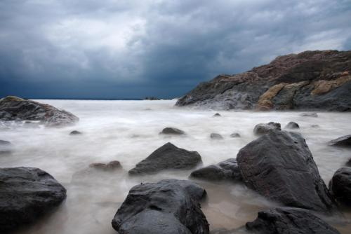 gokarna-om-beach